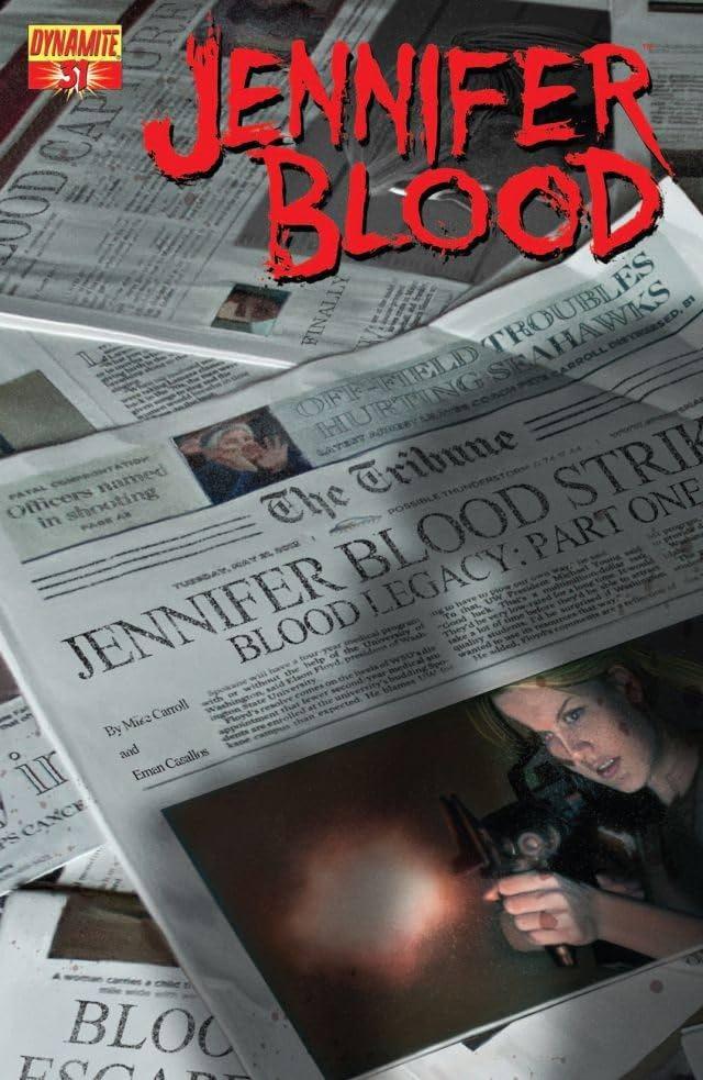 Garth Ennis' Jennifer Blood #31