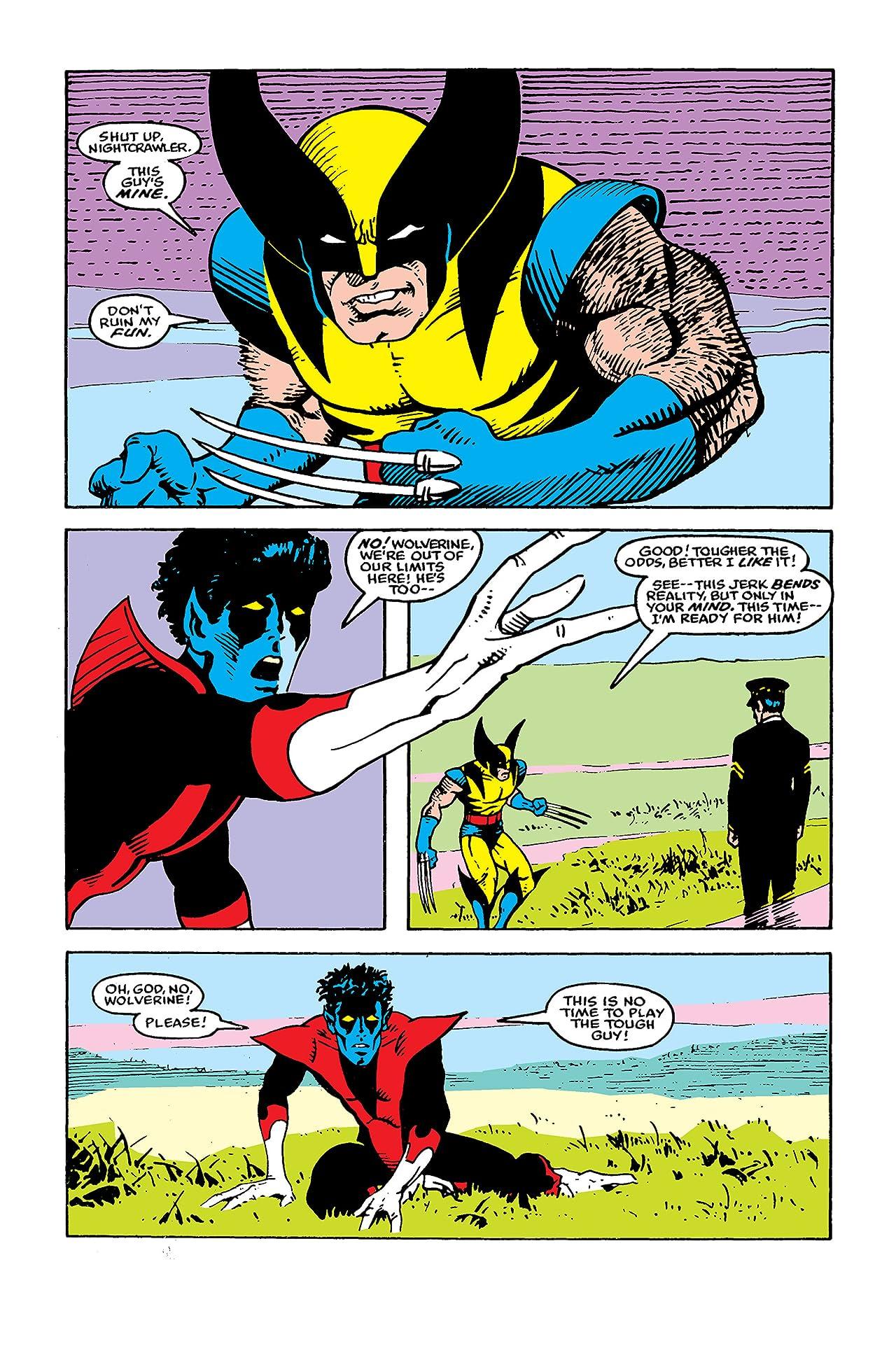 Classic X-Men (1986-1990) #32