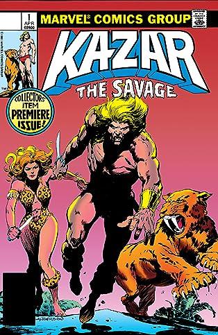 Ka-Zar The Savage (1981-1984) #1