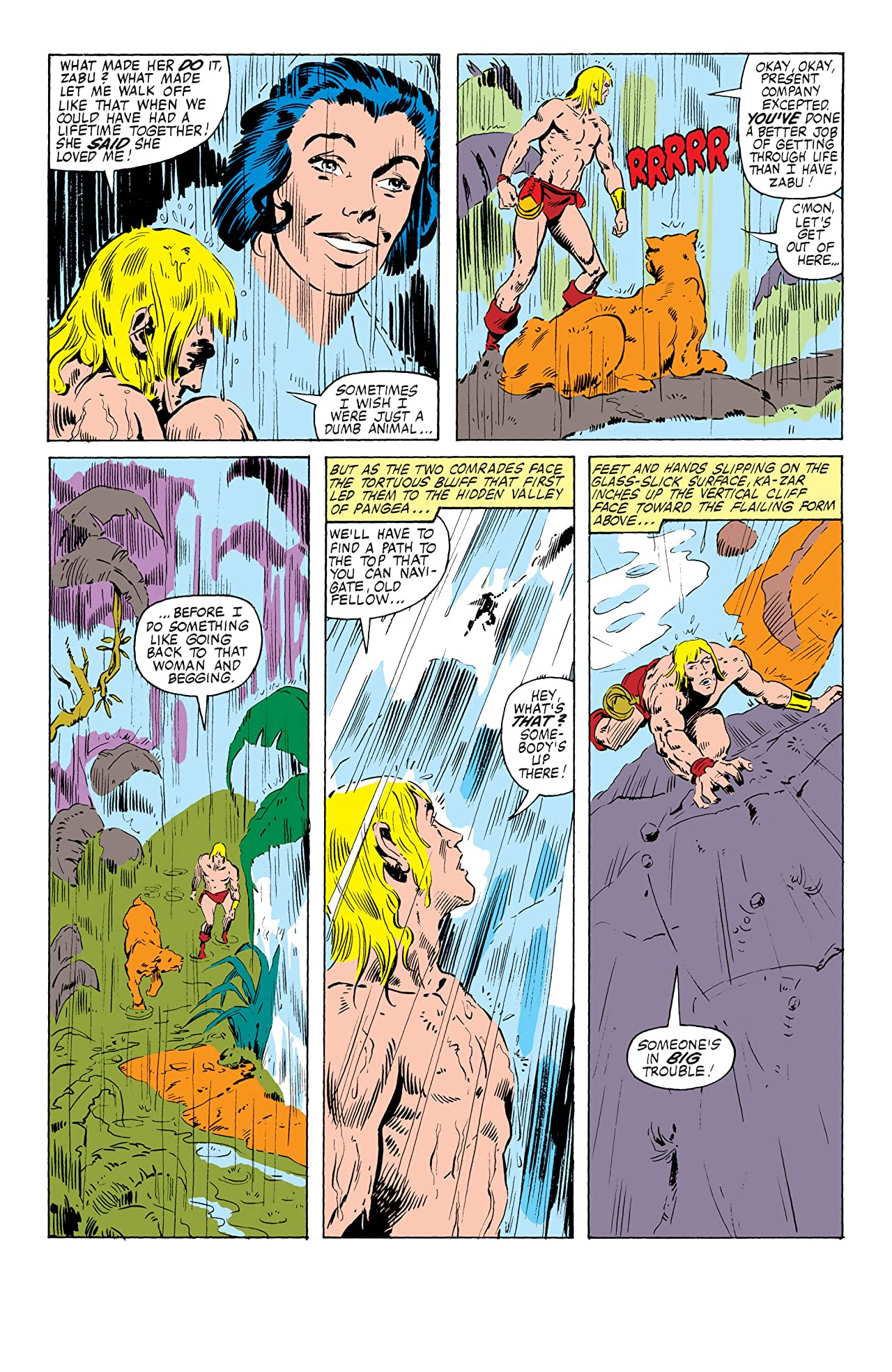 Ka-Zar The Savage (1981-1984) #2