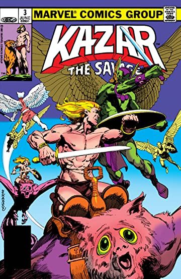 Ka-Zar The Savage (1981-1984) #3