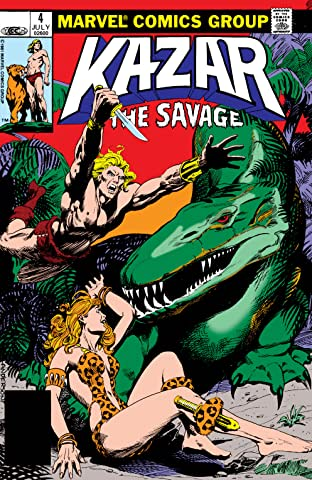 Ka-Zar The Savage (1981-1984) #4