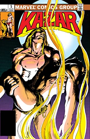 Ka-Zar The Savage (1981-1984) #5