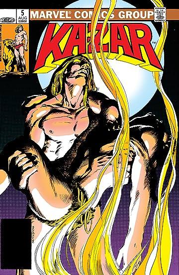 Ka-Zar The Savage (1981-1984) #5