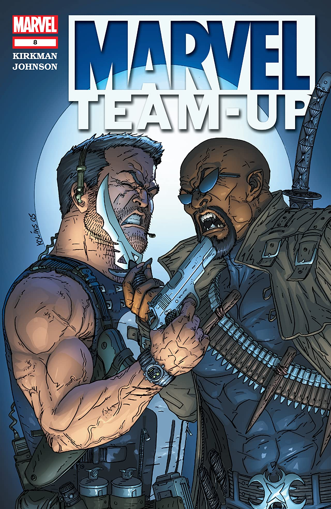 Marvel Team-Up (2004-2006) #8