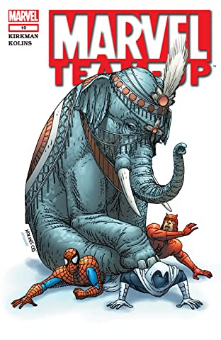 Marvel Team-Up (2004-2006) #10