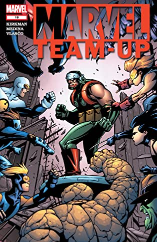 Marvel Team-Up (2004-2006) #18