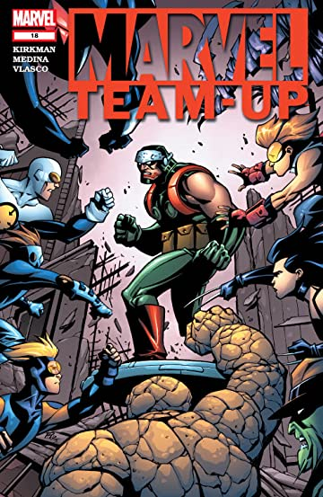 Marvel Team-Up (2004-2006) #18