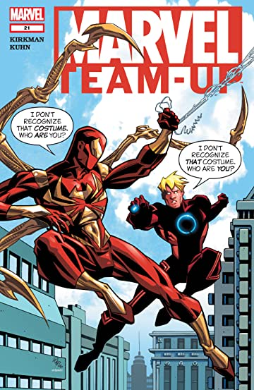 Marvel Team-Up (2004-2006) #21