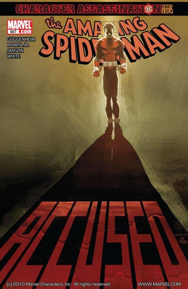 Amazing Spider-Man (1999-2013) #587