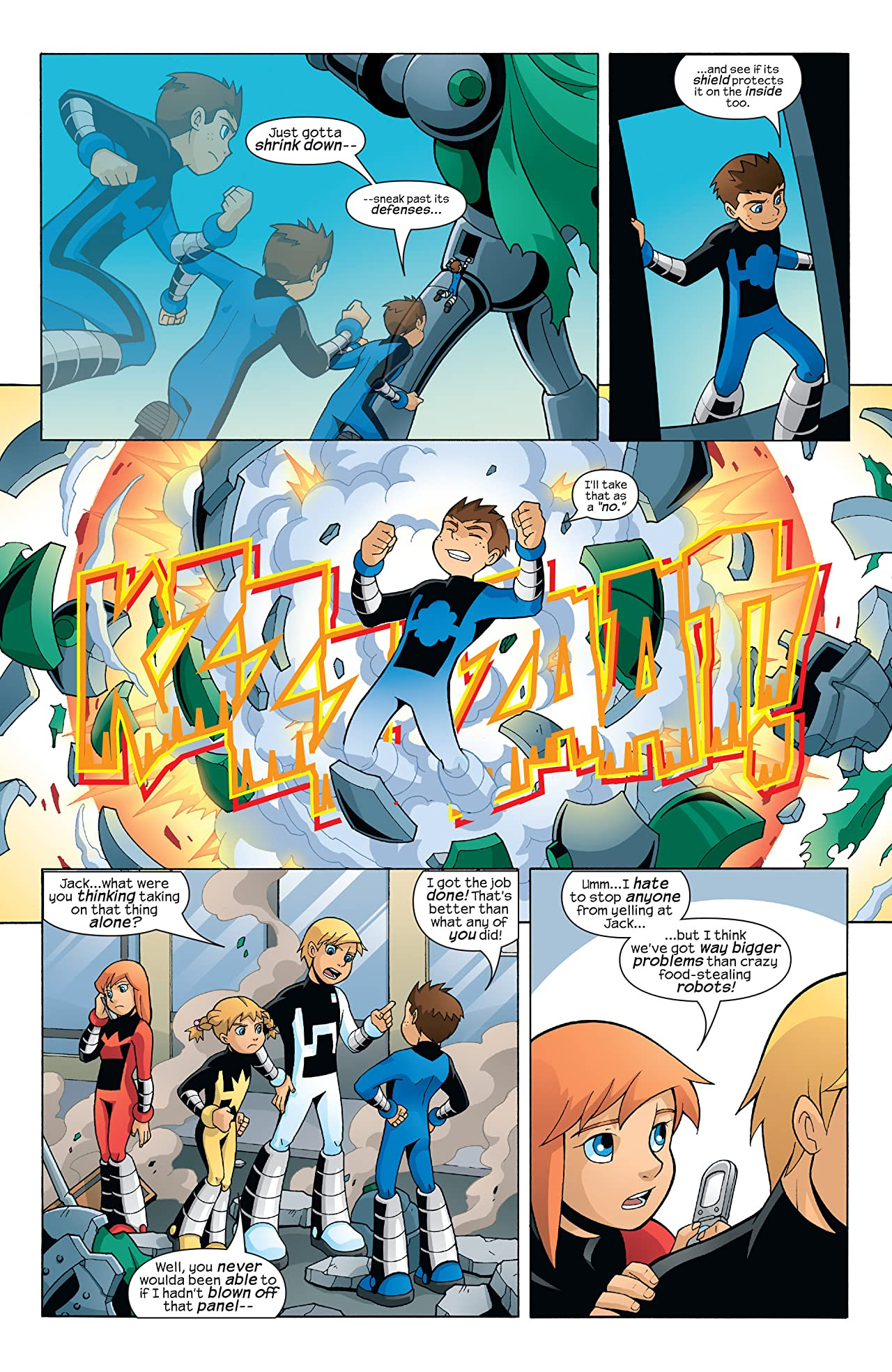 Power Pack (2005) #3 (of 4)