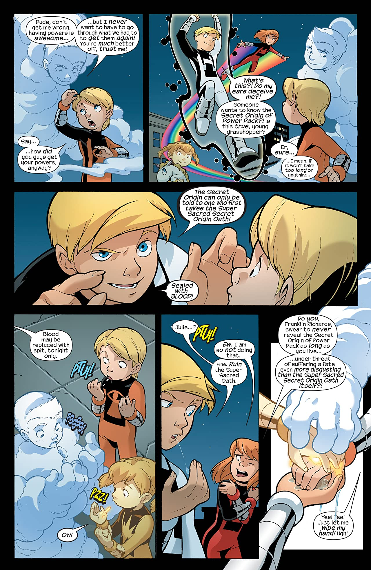 Power Pack: Day One (2008) #1 (of 4)
