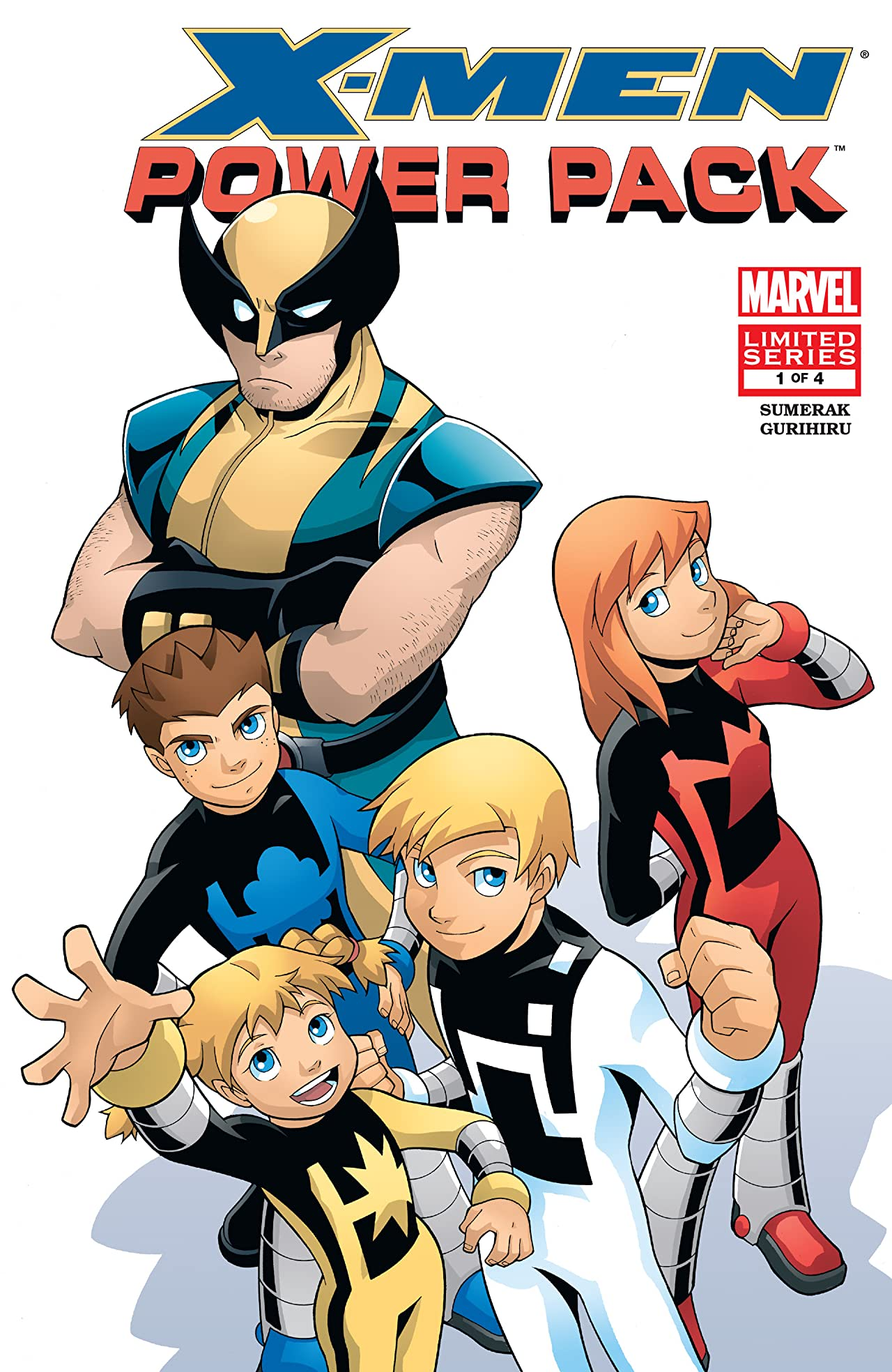 X-Men and Power Pack (2005-2006) #1 (of 4)