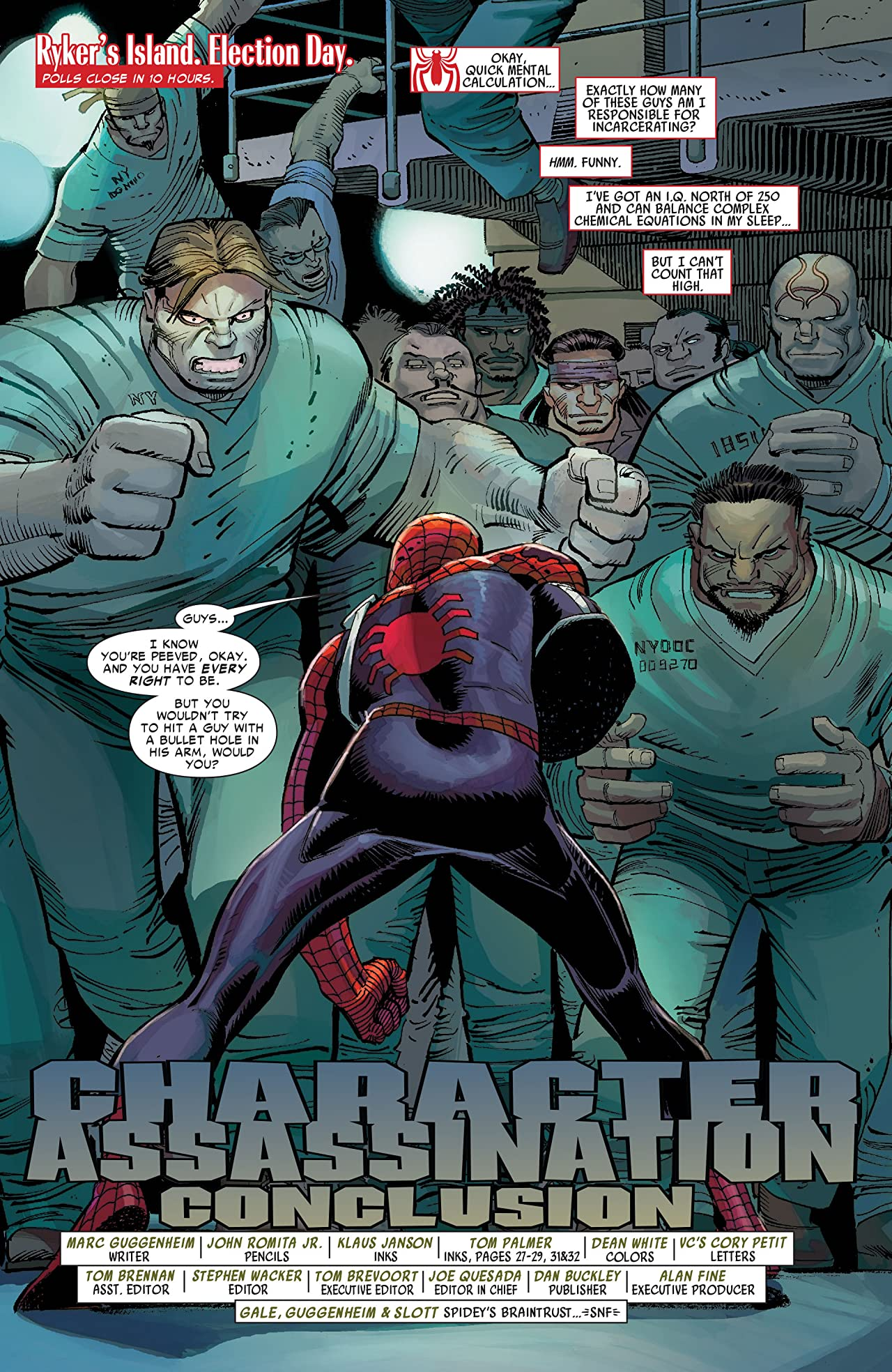 Amazing Spider-Man (1999-2013) #588