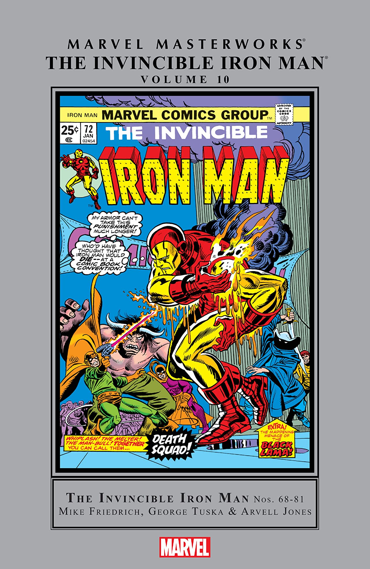 Iron Man Masterworks Vol. 10