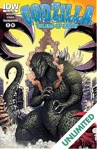 Godzilla: Rulers of Earth #4