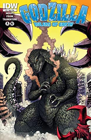 Godzilla: Rulers of Earth #4