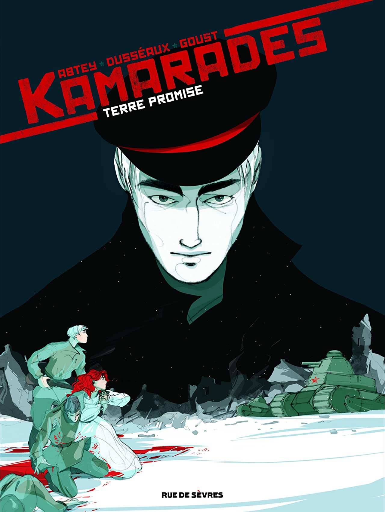 Kamarades Tome 3: Terre promise