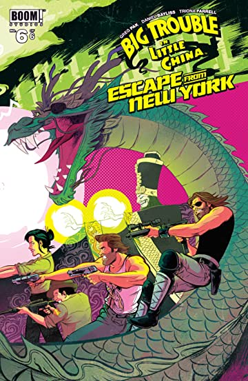 Big Trouble in Little China/Escape from New York #6 (of 6)