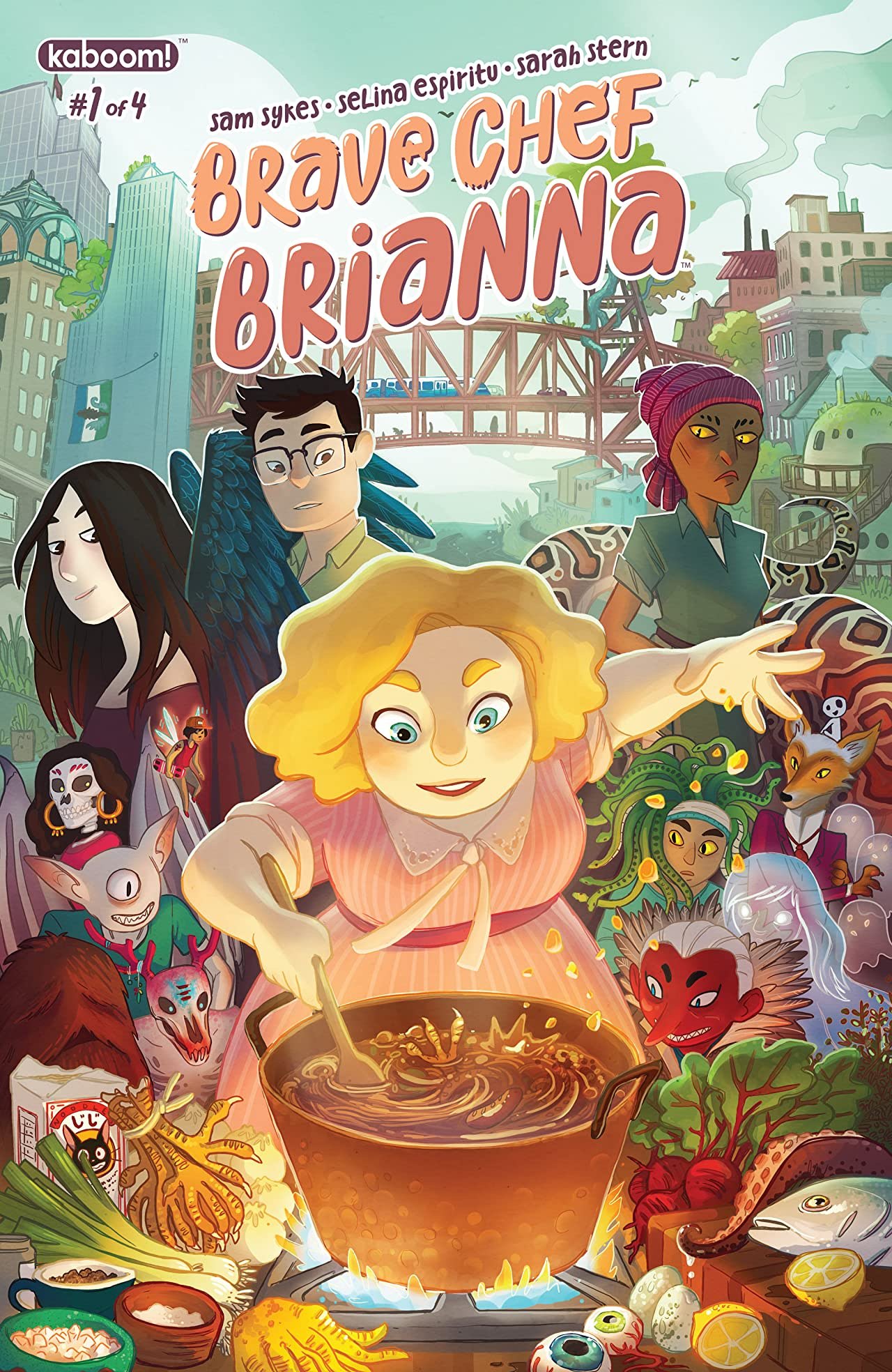Brave Chef Brianna #1 (of 4)