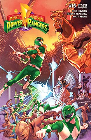 Mighty Morphin Power Rangers No.13