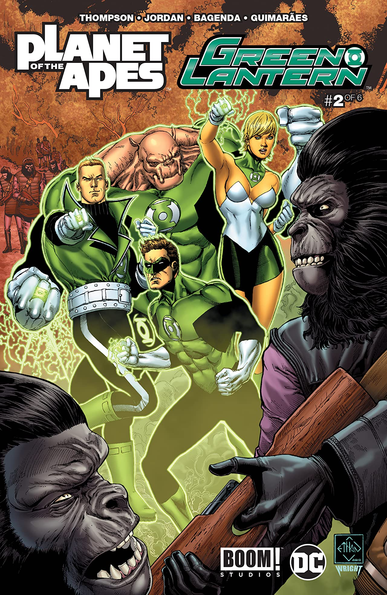 Planet of the Apes/Green Lantern #2 (of 6)