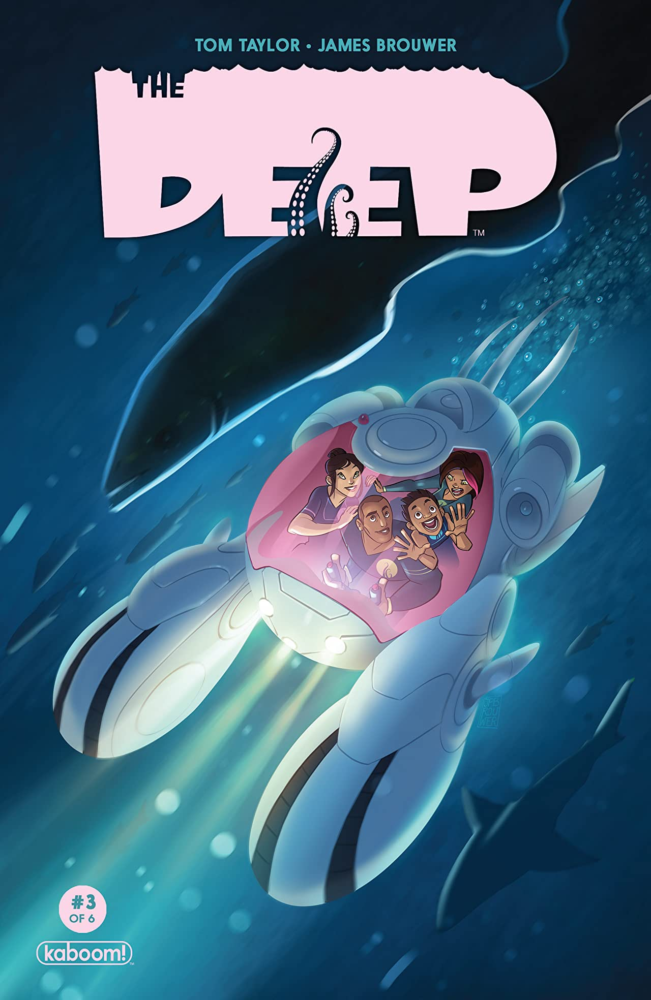 The Deep #3 (of 6)