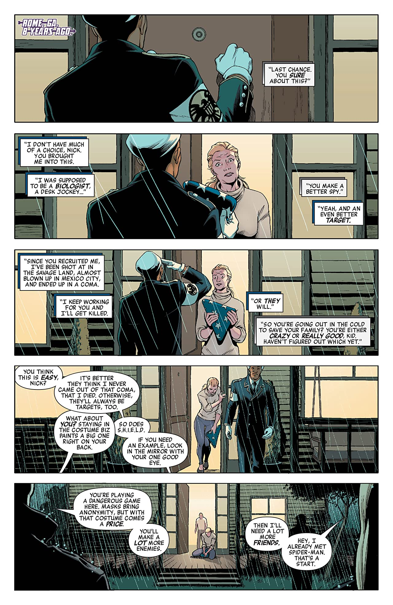 Hawkeye & Mockingbird #2