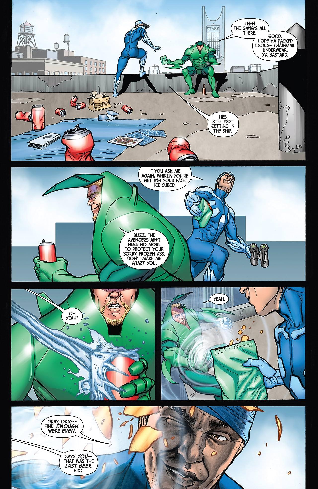 Infinity: Heist #1 (of 4)