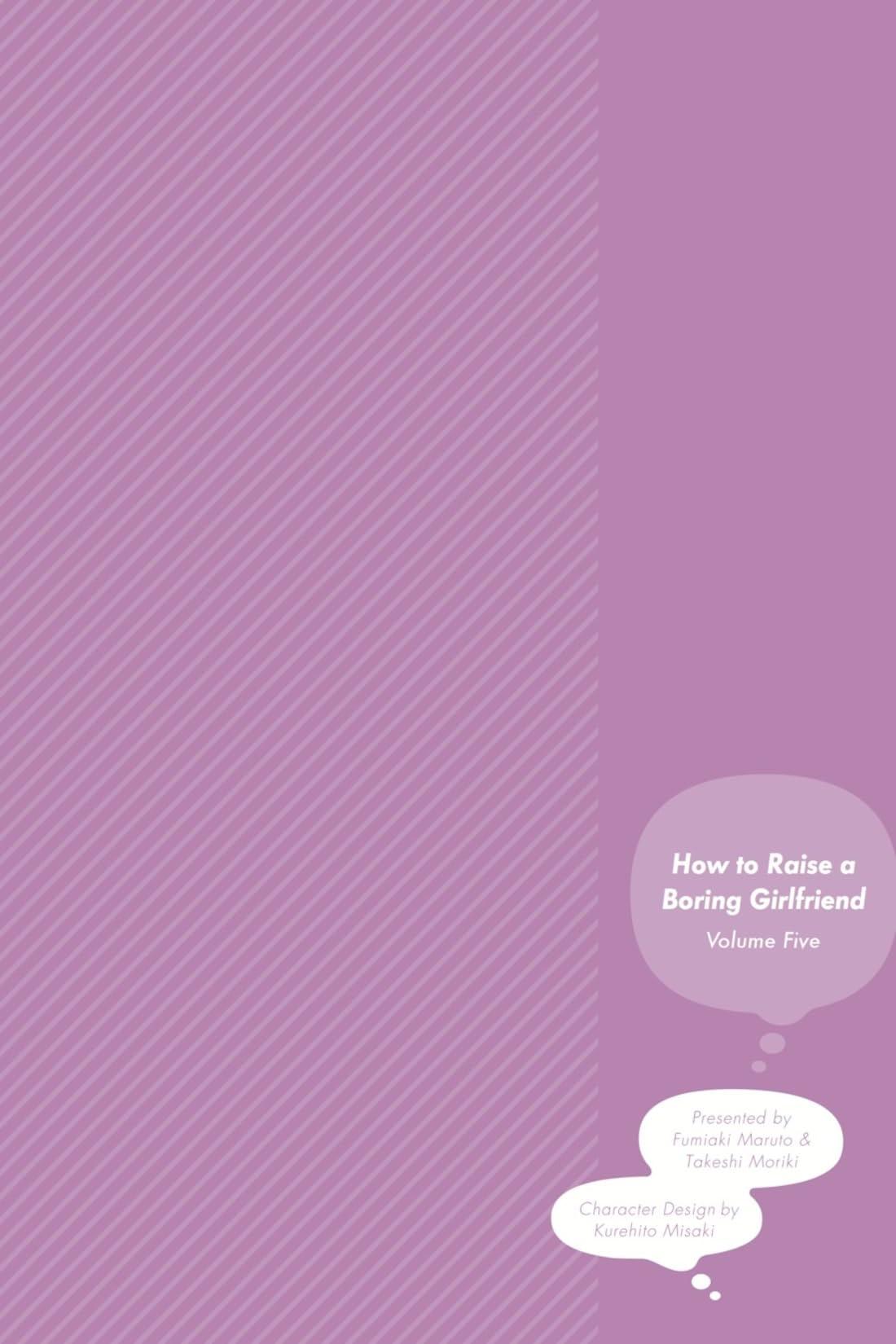 How to Raise a Boring Girlfriend Vol. 5