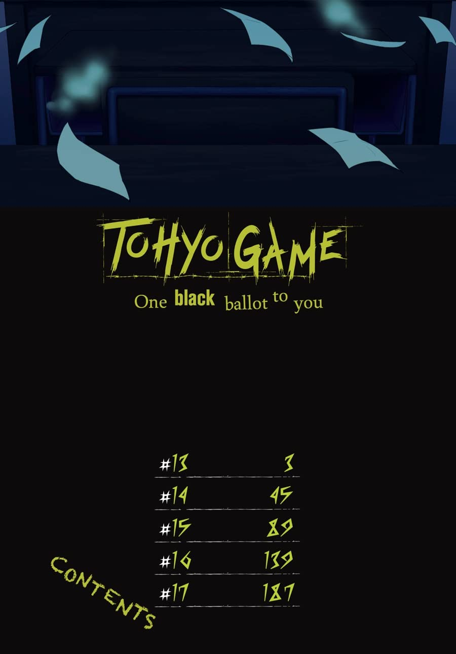 Tohyo Game: One Black Ballot to You Vol. 3
