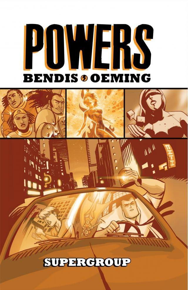 Powers Vol. 4: Supergroup