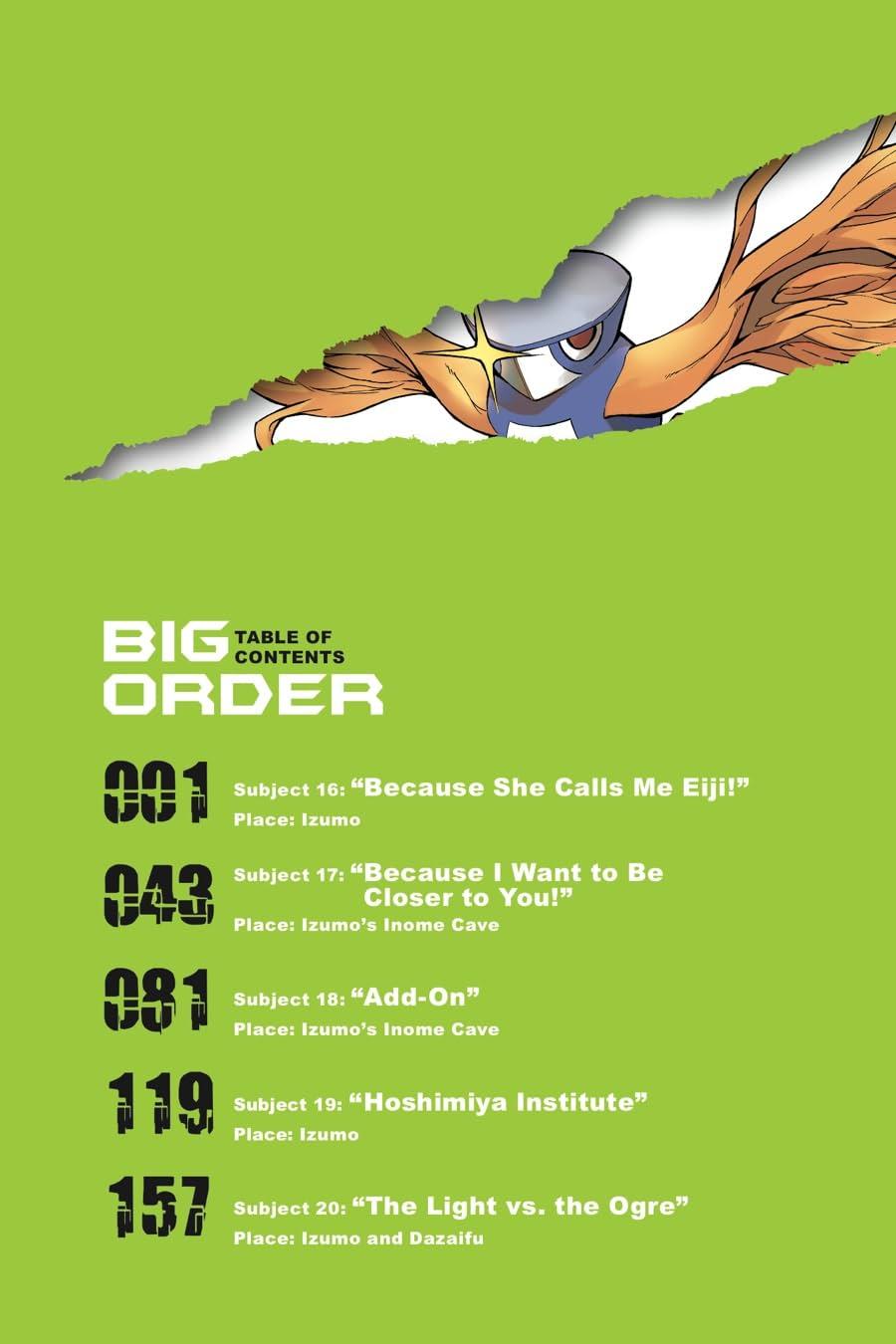 Big Order Vol. 4