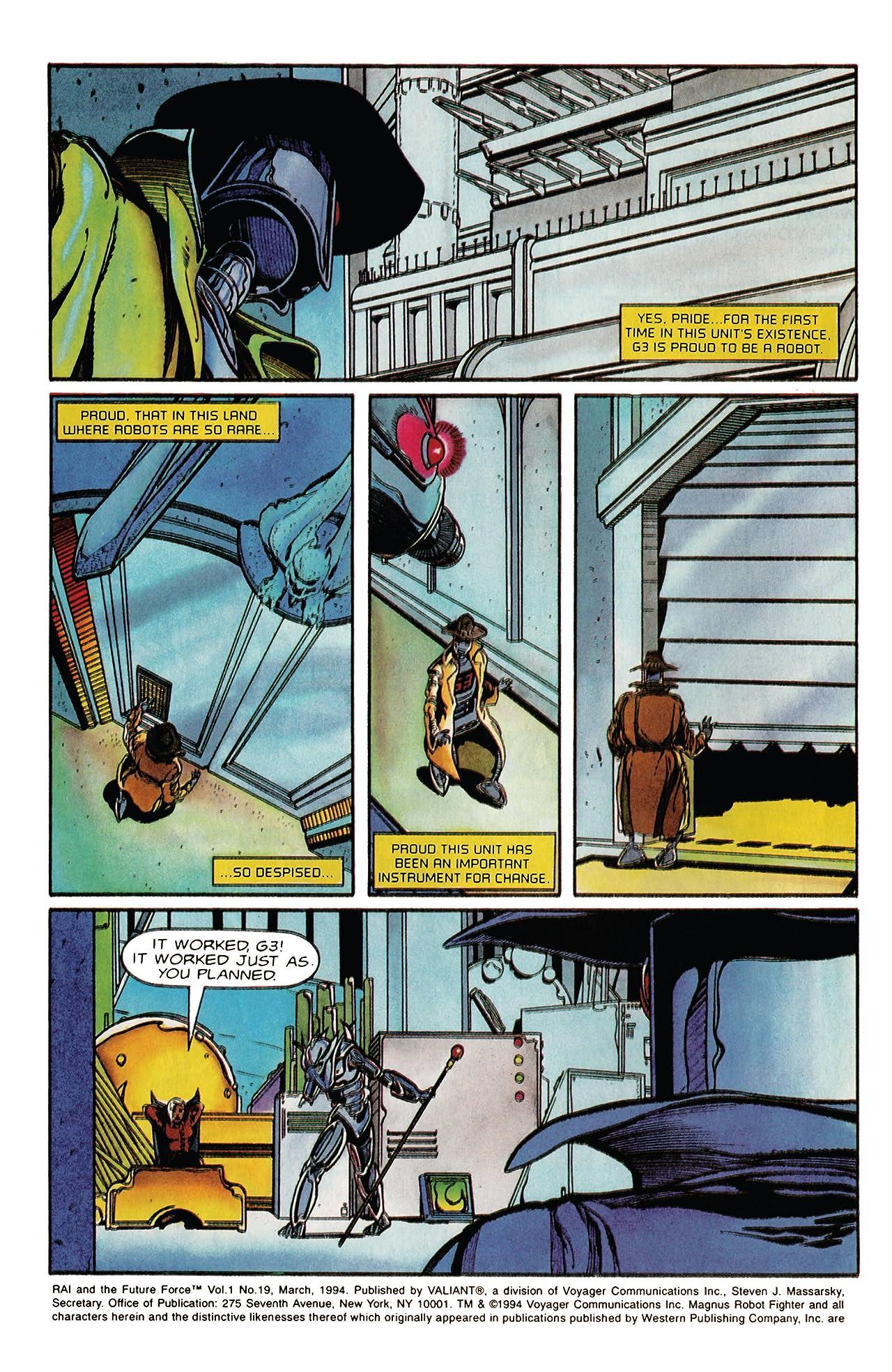 Rai and the Future Force (1992-1995) #19