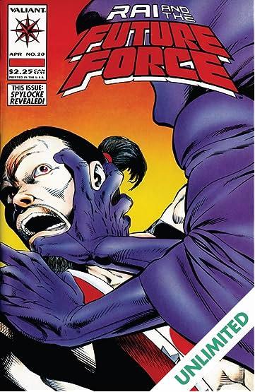 Rai and the Future Force (1992-1995) #20