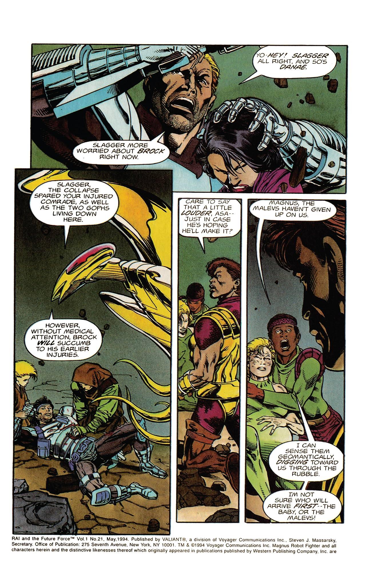 Rai and the Future Force (1992-1995) #21