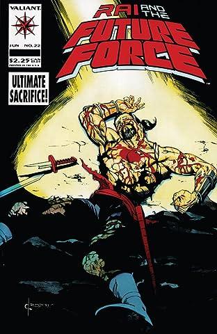 Rai and the Future Force (1992-1995) #22