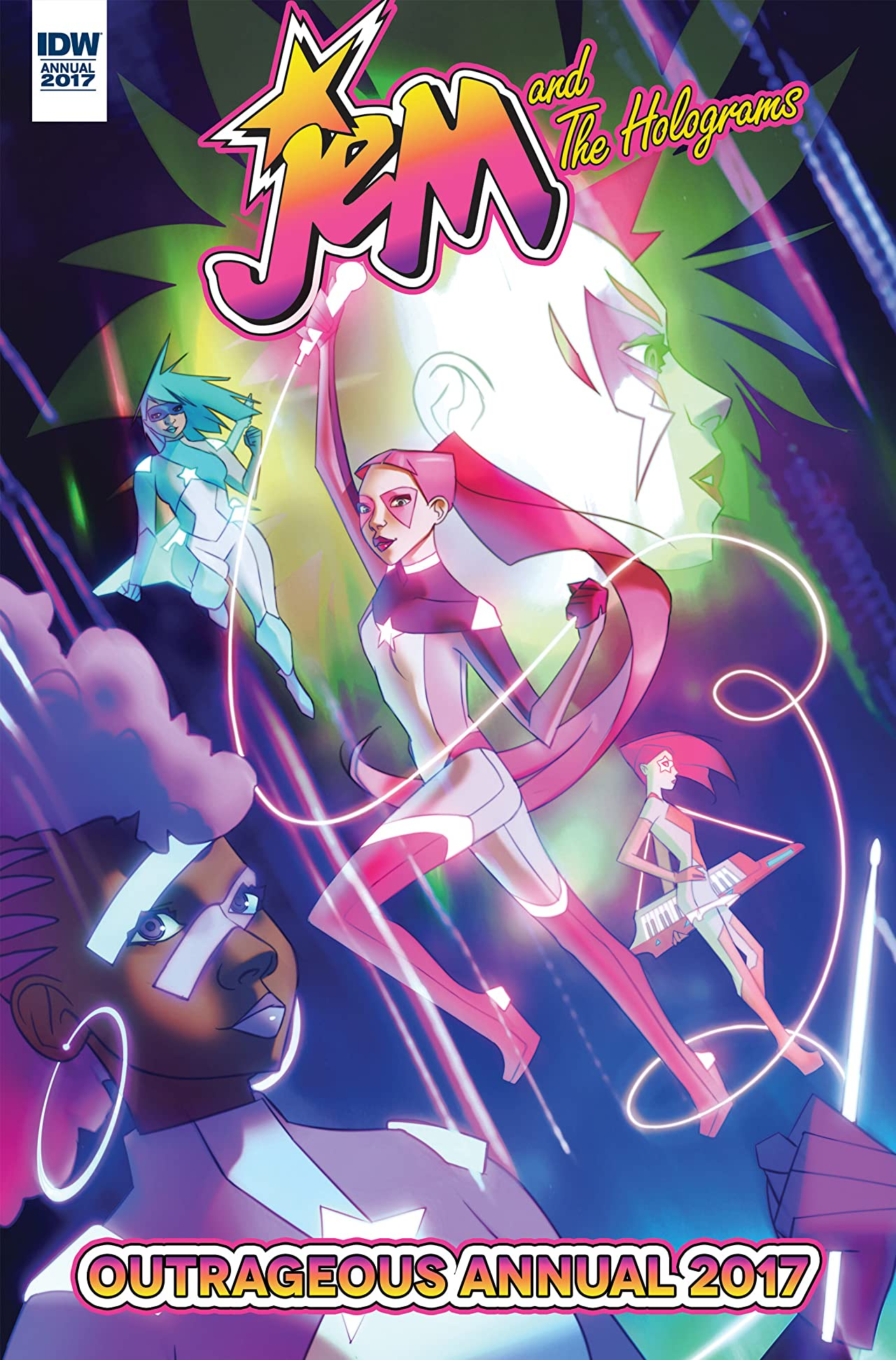 Jem and the Holograms Annual 2017