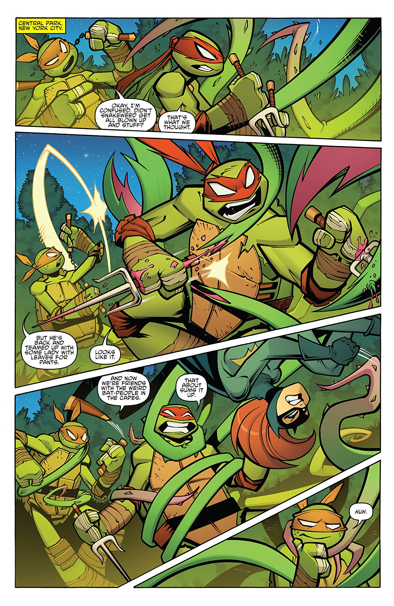 Batman/Teenage Mutant Ninja Turtles Adventures #3