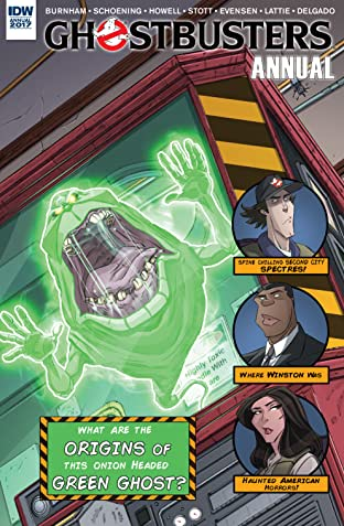 Ghostbusters Annual 2017