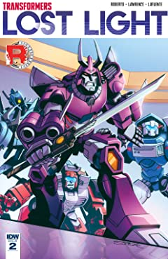 Transformers: Lost Light #2
