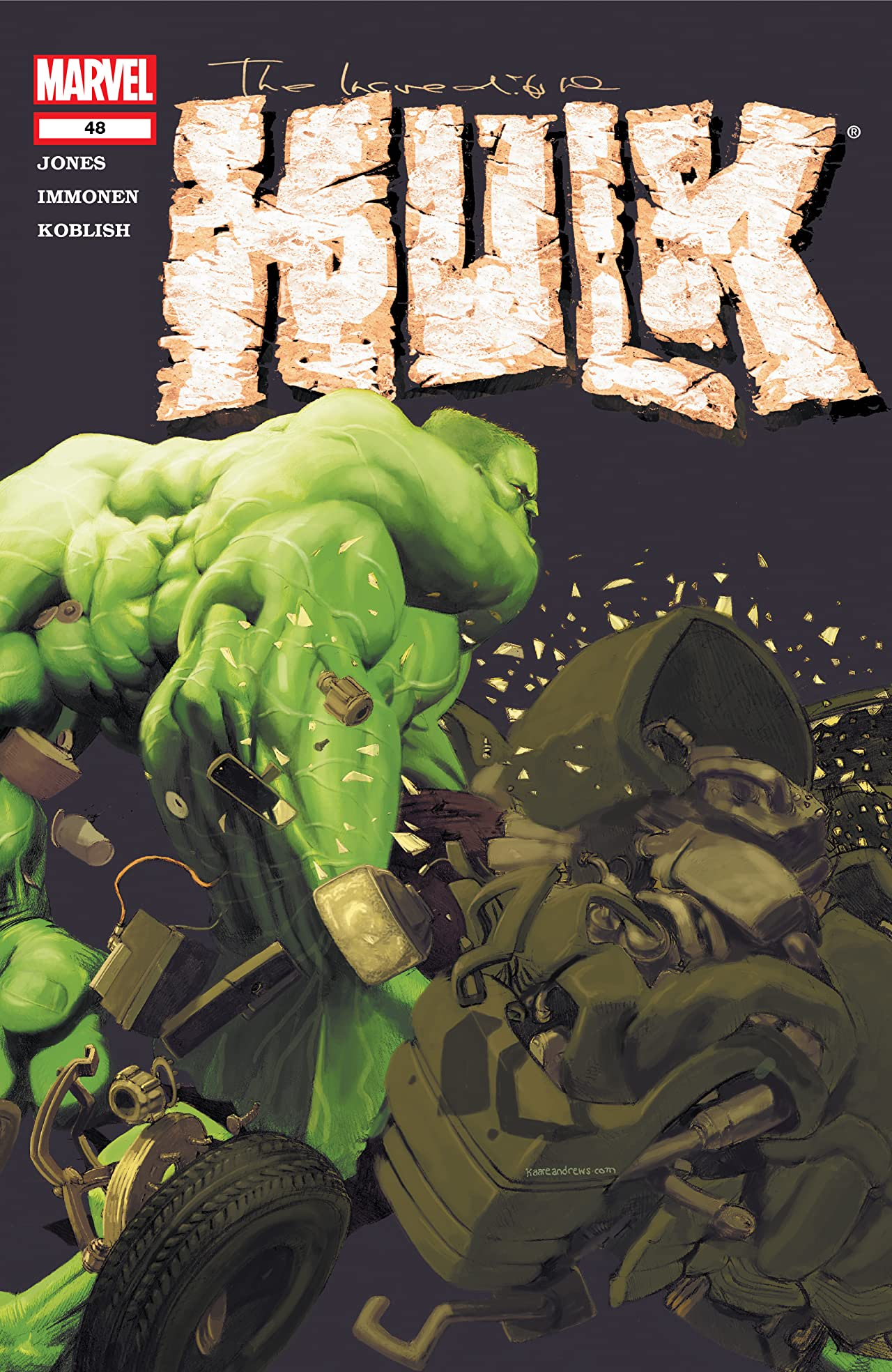 Incredible Hulk (1999-2007) #48