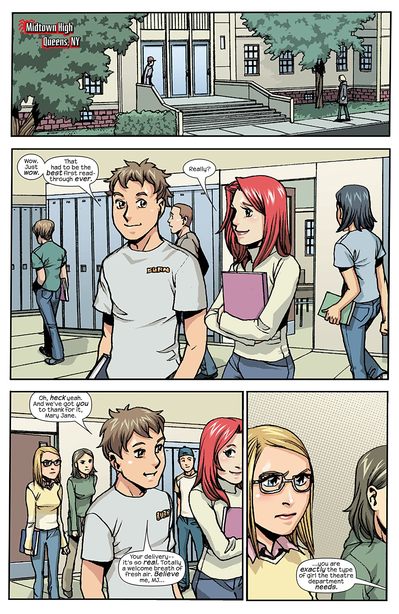 Spider-Man Loves Mary Jane (2005-2007) #3