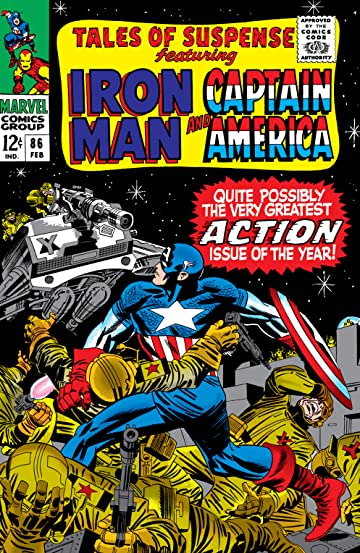 Tales of Suspense (1959-1968) #86