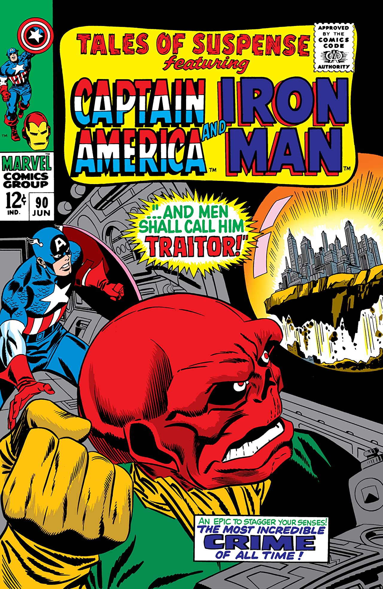 Tales of Suspense (1959-1968) #90