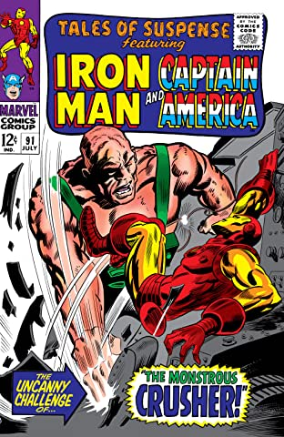 Tales of Suspense (1959-1968) #91