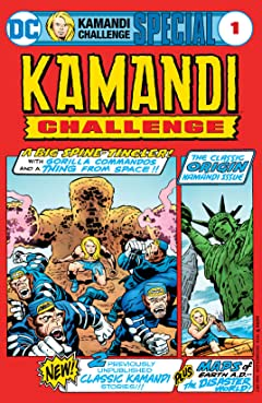 The Kamandi Challenge Special (2017) #1