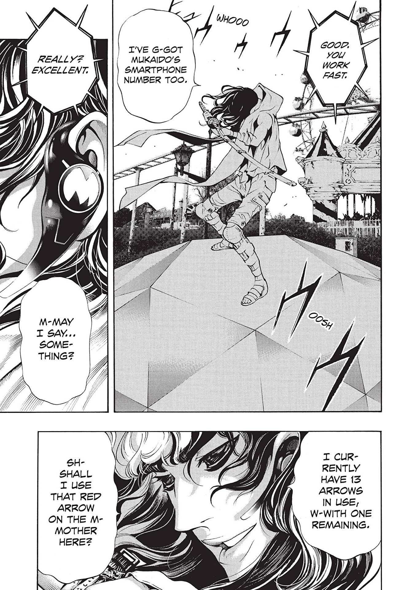 Platinum End: Chapter 15