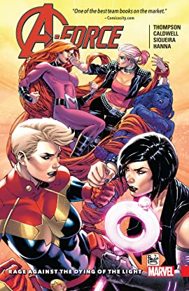 A-Force Tome 2: Rage Against The Dying Of The Light