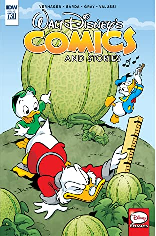Walt Disney's Comics and Stories #730